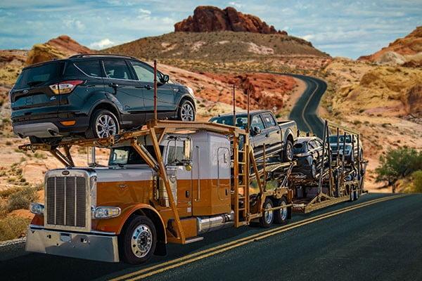dellcy car transport car hauler