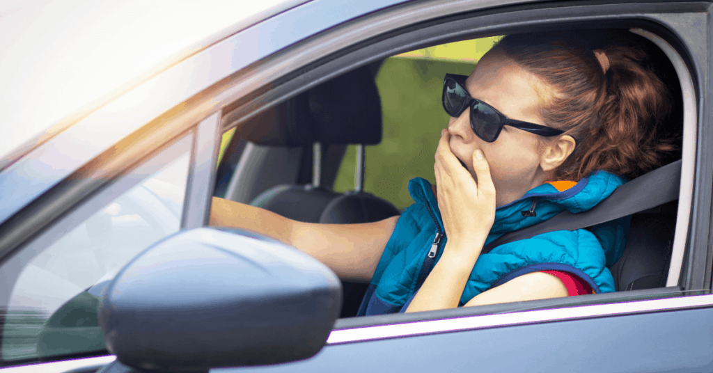 Drowsy driving stats & facts 2021