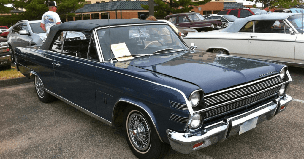 The 25 year law for importation of classic or antique vehicles
