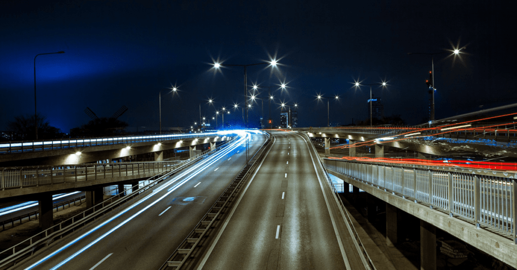 The history of the US interstate highway system
